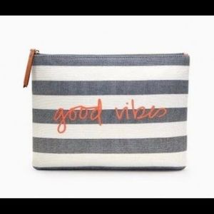 Stella & Dot Good Vibes pouch - brand new